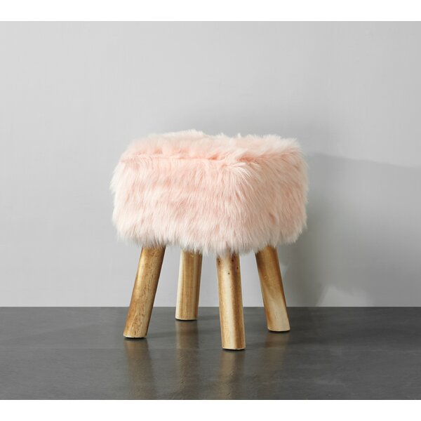 Aldea Vanity Stool by Bungalow Rose