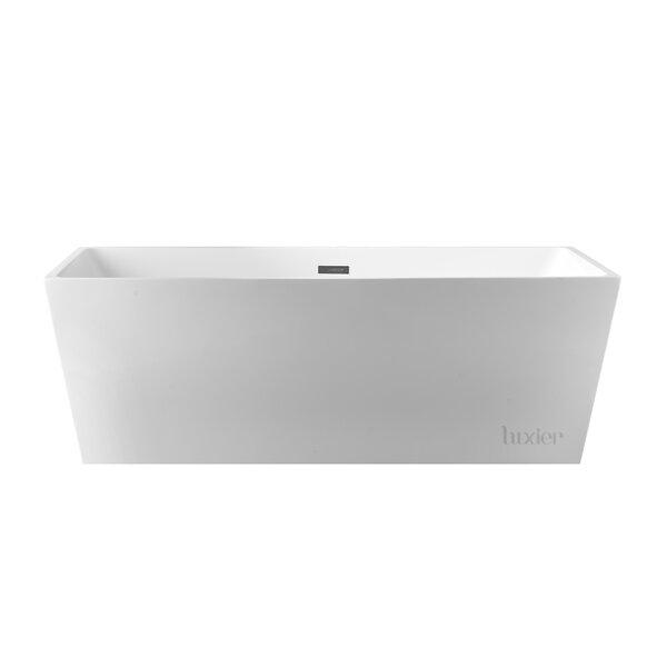 Luxury 67 x 32 Freestanding Soaking Bathtub by Luxier