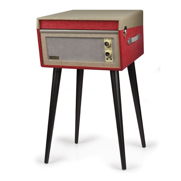 Dansette Bermuda Turntable with Bluetooth and Pitch Control by Crosley Electronics