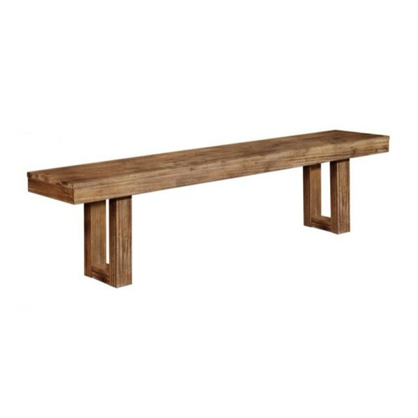 Passyunk Side Wood Bench By Union Rustic Comparison