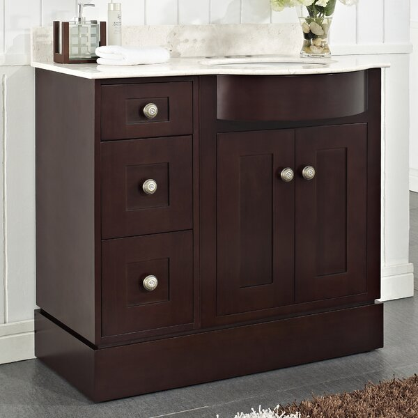 Kester 36 Wood Bathroom Vanity by Darby Home Co