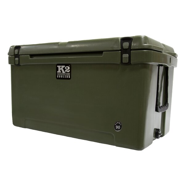 90 Qt. Summit Steel Cooler by K2 Coolers