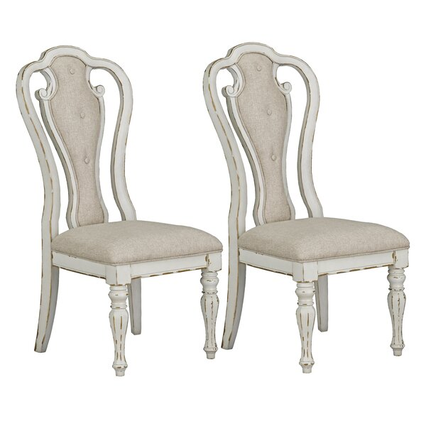 Laramie Upholstered Dining Chair (Set of 2) by Ophelia & Co.