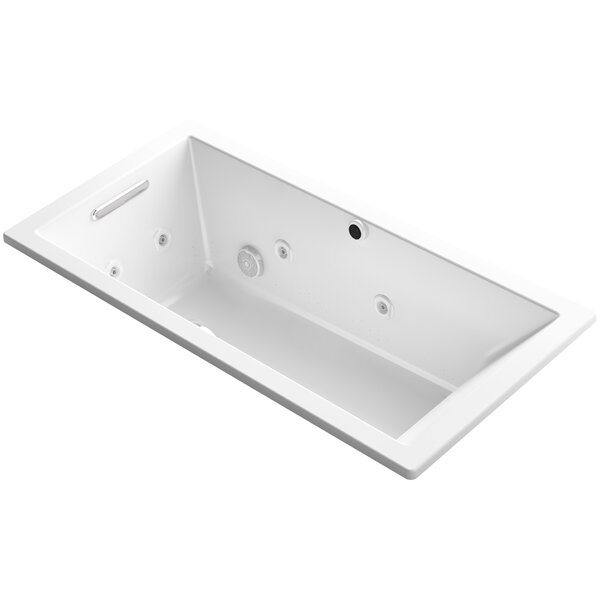 Underscore 60 x 30 Air / Whirlpool Bathtub by Kohler
