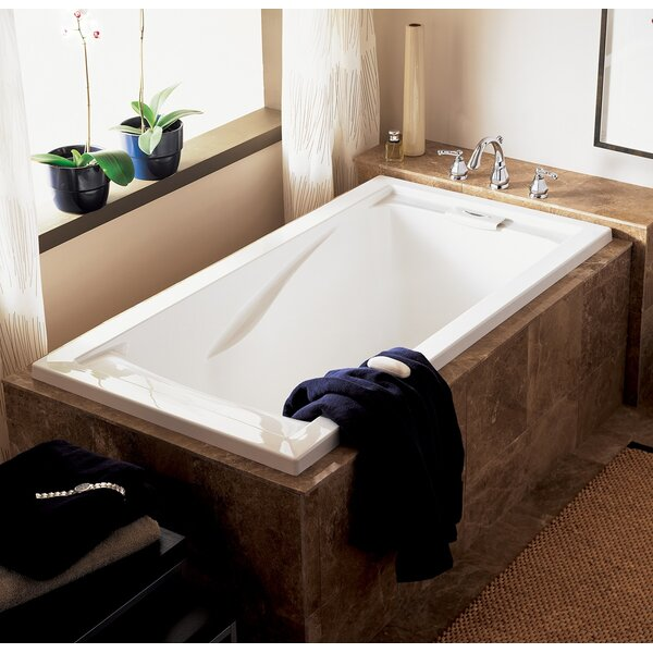 Evolution 60 x 32 Deep Undermount Soaking Bathtub by American Standard