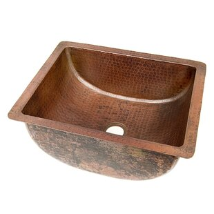 Order Copper Bathroom Sinks Metal Rectangular Undermount Bathroom Sink By D'Vontz