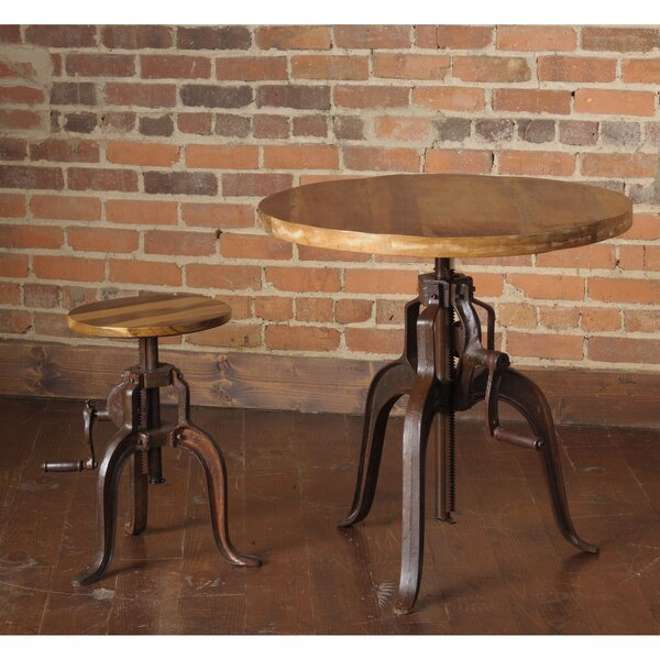 Siri 2 Piece Adjustable Pub Table Set by 17 Stories