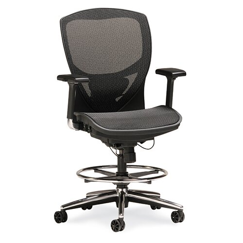 Ovation V High-Back Mesh Drafting Chair by OCISitwell