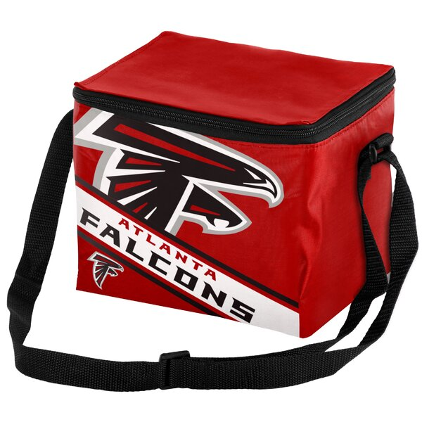 6 Can Big Logo Stripe Softsided Cooler by Forever