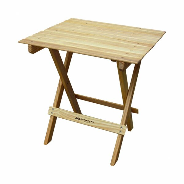 Folding  Solid Wood Side Table by Blue Ridge Chair Works