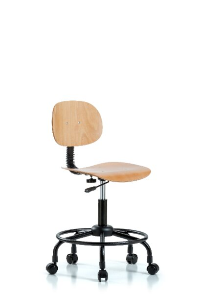 Cali Round Tube Base Ergonomic Office Chair by Symple Stuff