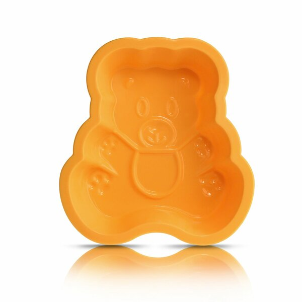 Silicone Teddy Bear Animal Chocolate Cake Mold by Innoka