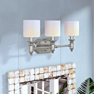 Top Reviews Mumford 3-Light Vanity Light By Beachcrest Home