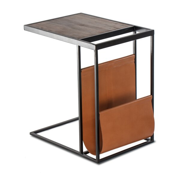 Karina End Table by Modern Rustic Interiors