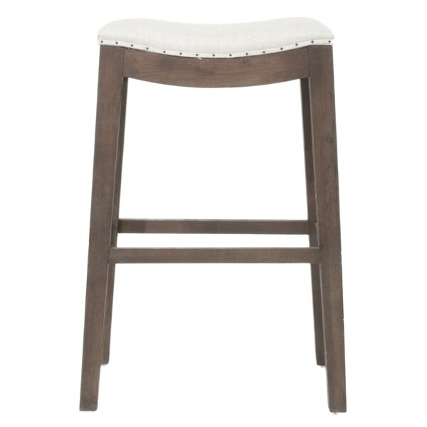 Duboce Elevated Upholstered Bar Stool by Ophelia & Co.