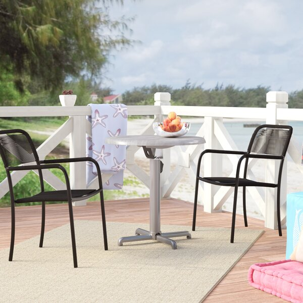 Hillsdale 3 Piece Bistro Set by Rosecliff Heights