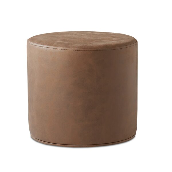 Home & Outdoor Celine Leather Pouf