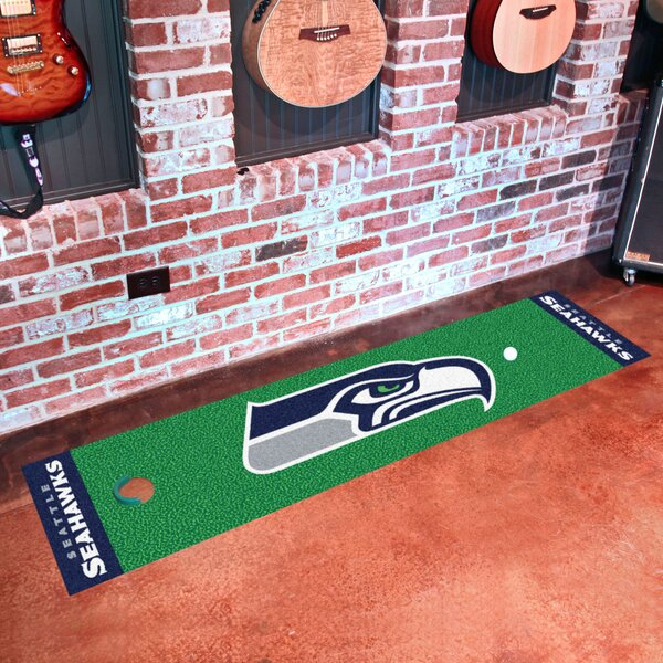 NFL Seattle Seahawks Putting Green Mat by FANMATS