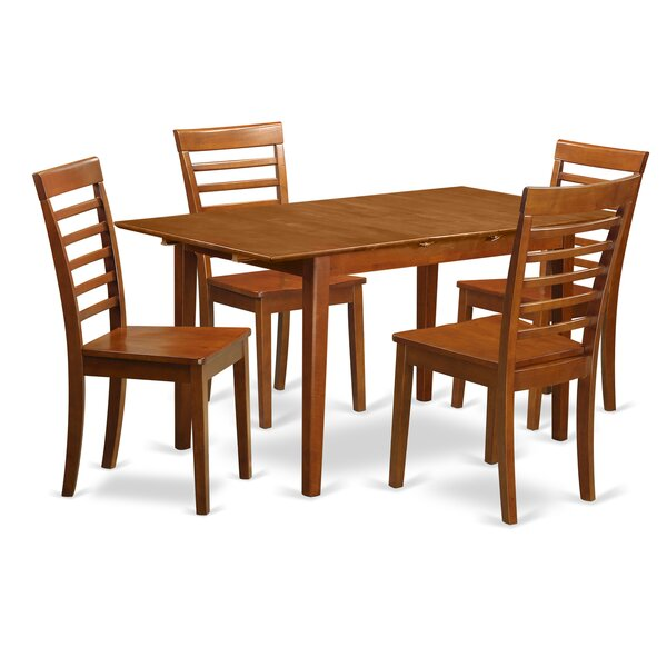 Cartley Extendable Dining Set by Red Barrel Studio Red Barrel Studio