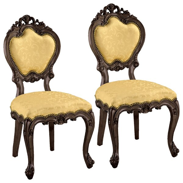 Lady Ambrose Side Chair (Set of 2) by Design Toscano