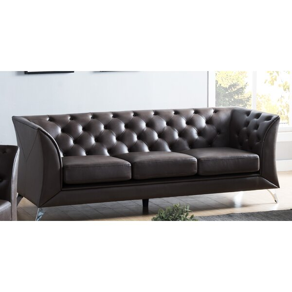 Excellent Brands Downridge Chesterfield Sofa by Orren Ellis by Orren Ellis