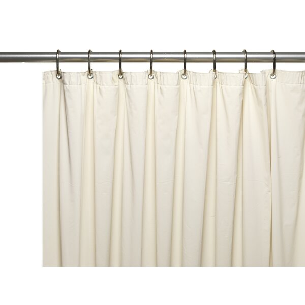 Vinyl 8 Gauge Shower Curtain Liner by Ben and Jonah