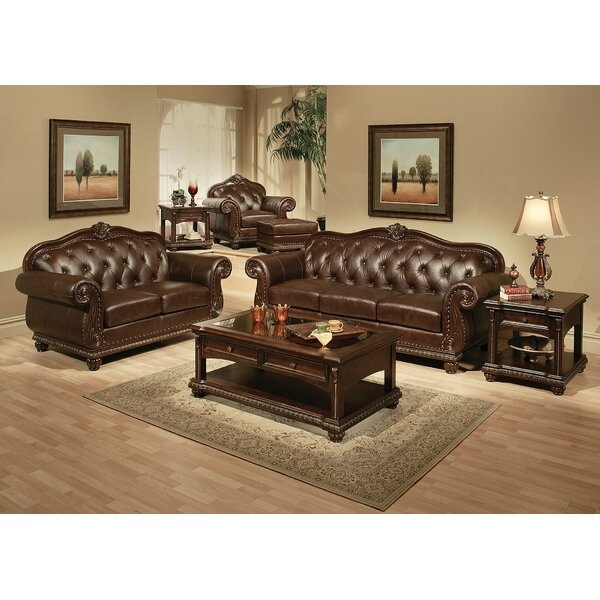 Collinson 3 Piece Living Room Set by Fleur De Lis Living