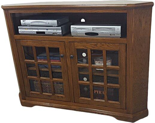 Oak Corner 57 TV Stand by American Heartland