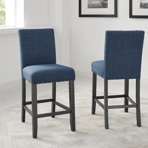 Amazing Price Check Russett 26 Bar Stool By Three Posts Cjindustries Chair Design For Home Cjindustriesco