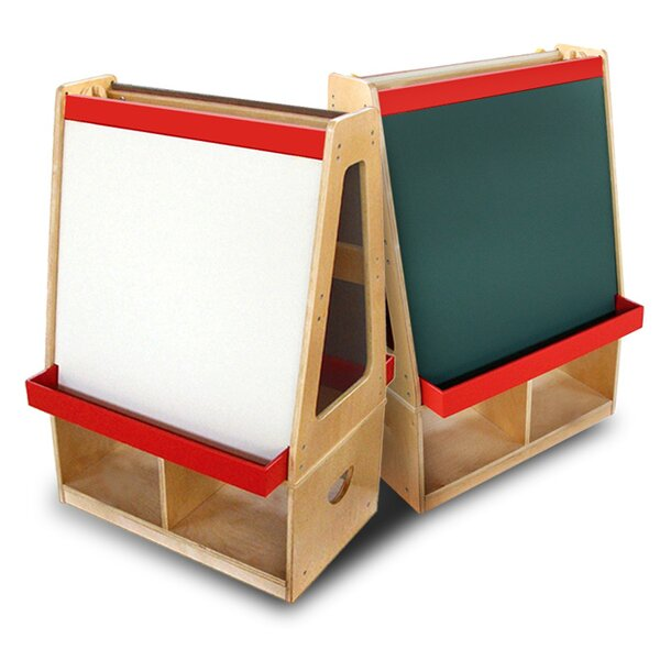 Double Sided Board Easel by A+ Child Supply