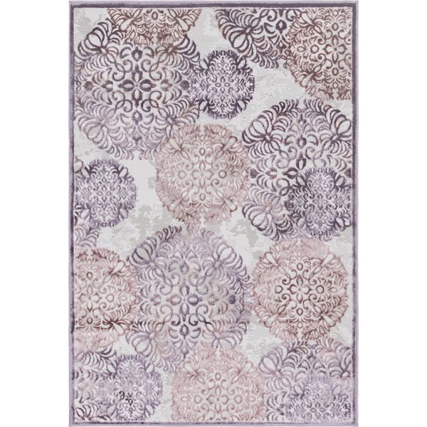 Delarosa Violet Area Rug by Bungalow Rose