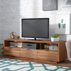 Posner 72 4  TV Stand Modern 70 Inch Stands Entertainment Centers AllModern