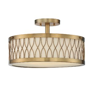 Look for Eliot 3-Light Semi Flush Mount By Willa Arlo Interiors