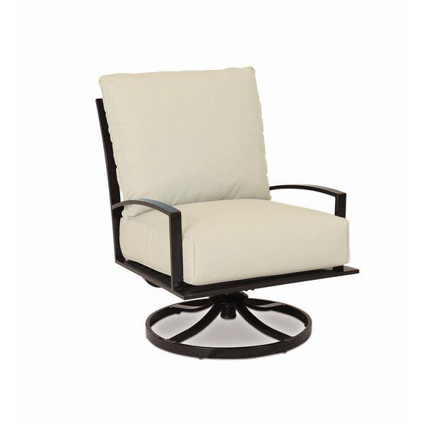 La Jolla Swivel Patio Chair with Sunbrella Cushion by Sunset West Sunset West