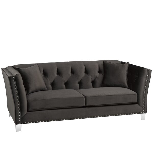 Shept Mallet Sofa by Everly Quinn