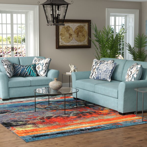 Easthampton 2 Piece Living Room Set by World Menagerie