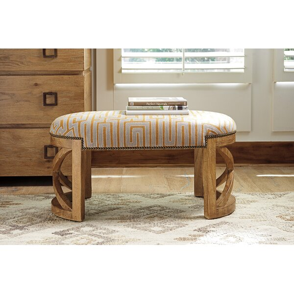 Los Altos Upholstered Bench by Tommy Bahama Home Tommy Bahama Home