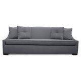 Valentine Lux Microfiber 95 Armless Sofa by South Cone Home
