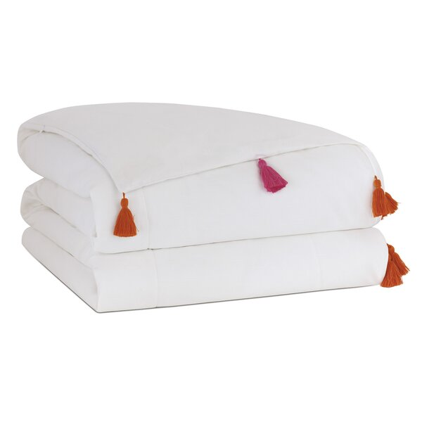 Nita Solid Tasseled Single Comforter
