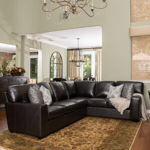Calabria Leather Sectional : leather sectional furniture - Sectionals, Sofas & Couches