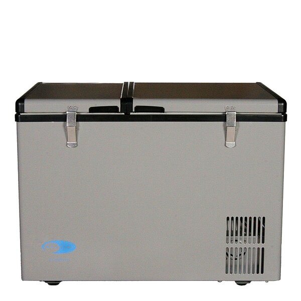 Dual Zone Portable 2.07 cu. ft. Chest Freezer by Whynter