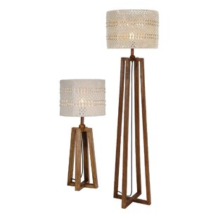 Devyn 2 Piece Table And Floor Lamp Set