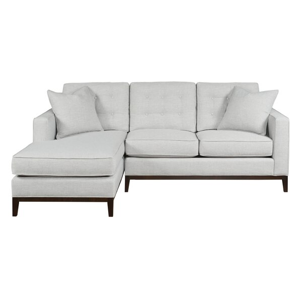 Rona Leather Chaise Lounge By Brayden Studio