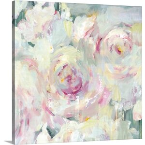 Shabby Peony II by PI Galerie Painting Print on Wrapped Canvas by Great Big Canvas