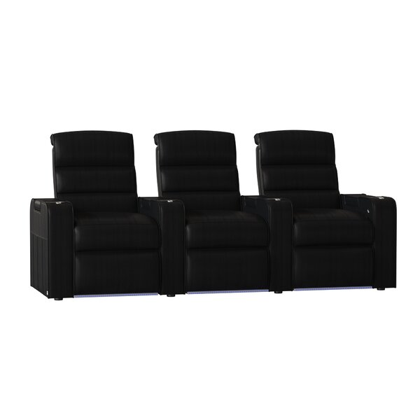 Magnum HR Series Home Theater Recliner (Row Of 3) By Red Barrel Studio