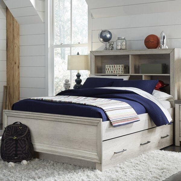 Riverwood Full Sleigh Bed by Gracie Oaks