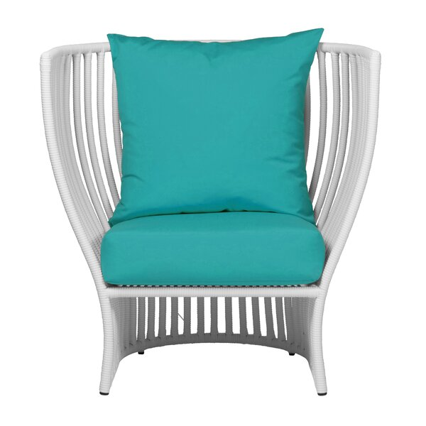 Napa Patio Chair with Sunbrella Cushions by David Francis Furniture