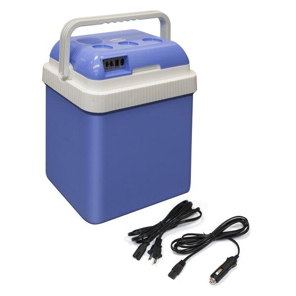 25.2 Qt. Portable Car Fridge Travel Cooler by ALEKO