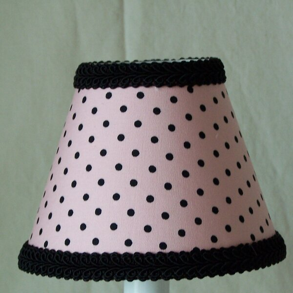Paris Polka Dot 11 Fabric Empire Lamp Shade by Silly Bear Lighting