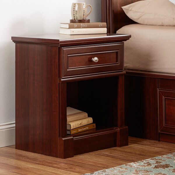 Walworth 1 Drawer Nightstand by Three Posts